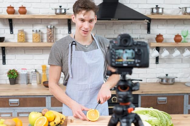 Vlogger kochen