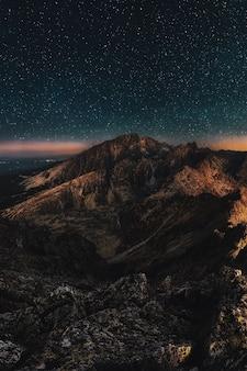 Vogelperspektive des berges