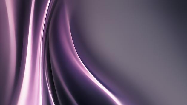 Vollbild abstraktes chrommetall als hintergrund, 3d-bild