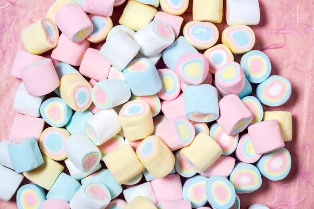 Vollbildaufnahme von marshmallows