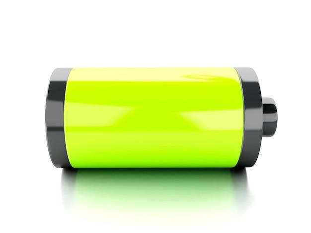 Volle batterie 3d symbol