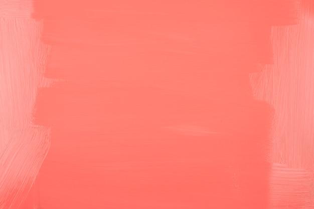 Voller rahmen des gemalten korallenroten hintergrundes