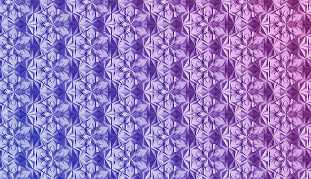Volumenmuster wird mit farbverlauf bedeckt