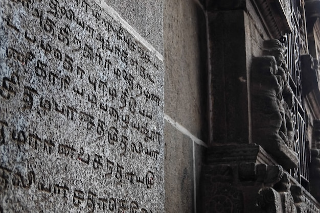 Vor den toren des nataraja-tempels chidambaram tamil nadu südindien