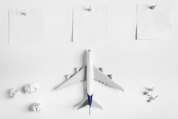 Vorbereitung für das reisenkonzept mit zu tun liste
