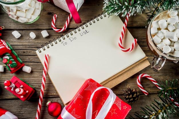 Vorbereitung für weihnachtsfeiertage