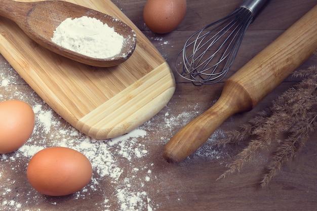 Vorbereitung kochen backküche