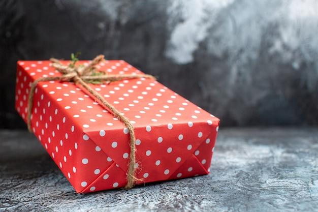 Vorderansicht weihnachtsgeschenk