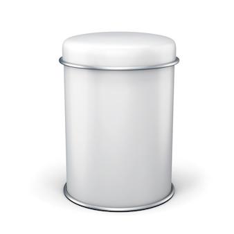 Vorlage blechdose mit platz für etiketten.