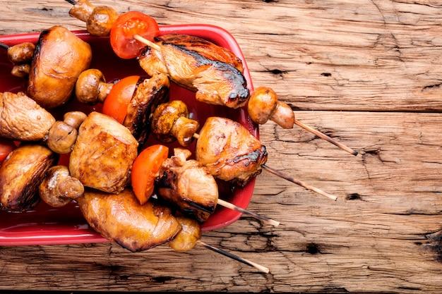 Vorspeise hühnchen-kebab