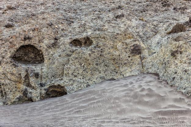 Vulkanagglomerat hintergrund