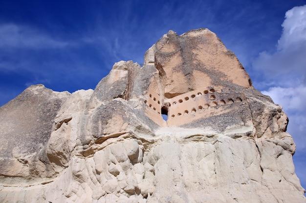 Vulkangesteine in kappadokien, türkei