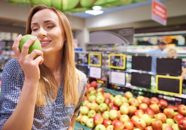 Wählen sie die gesündesten und biologischsten produkte