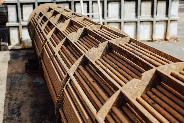 Wärmetauscher im rohrbündelblech korrosionsprodukt