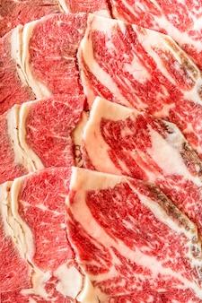 Wagyu-rindfleisch-beschaffenheit