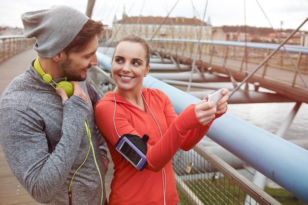 Wahl des perfekten ortes zum joggen