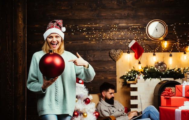 Wahre gefühle. weihnachtsferien verkauf rabatte. ausdrücke gesicht.