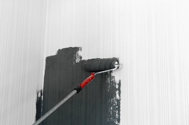 Walzenpinsel malerei