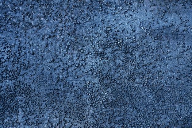 Wand dunkelschwarzblauer texturhintergrund
