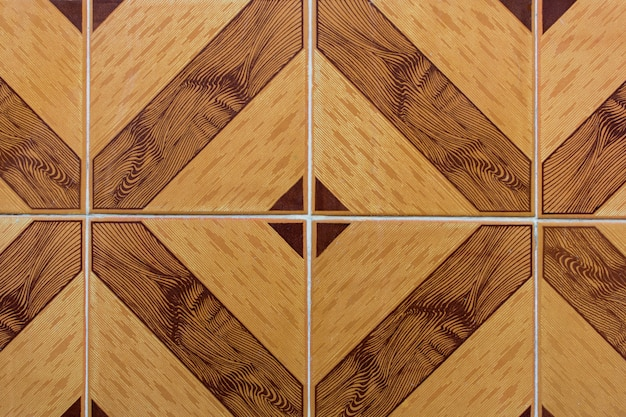 Wand-hintergrundbeschaffenheit der keramik braune