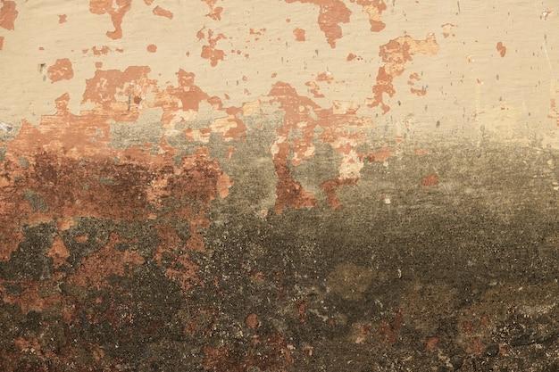Wand mit abgebrochenen anstrich