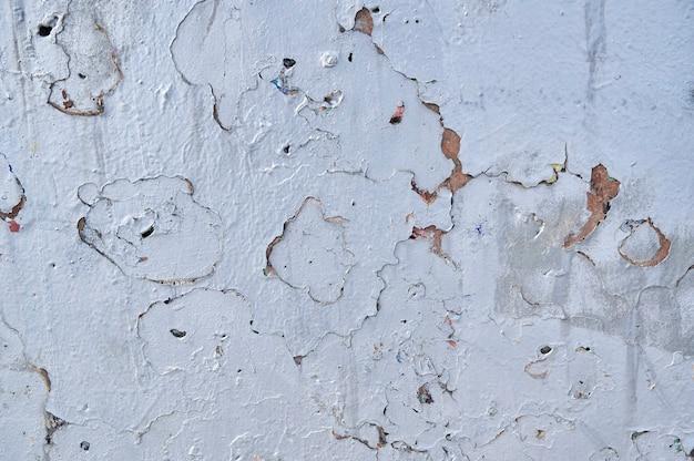 Wandbeschaffenheit mit abgenutztem altem gips, abstrakter hintergrund