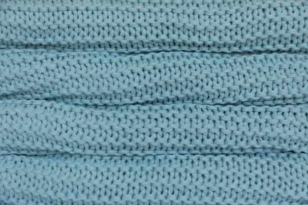Warme und kuschelige handgemachte gestrickte decken, texturhintergrund