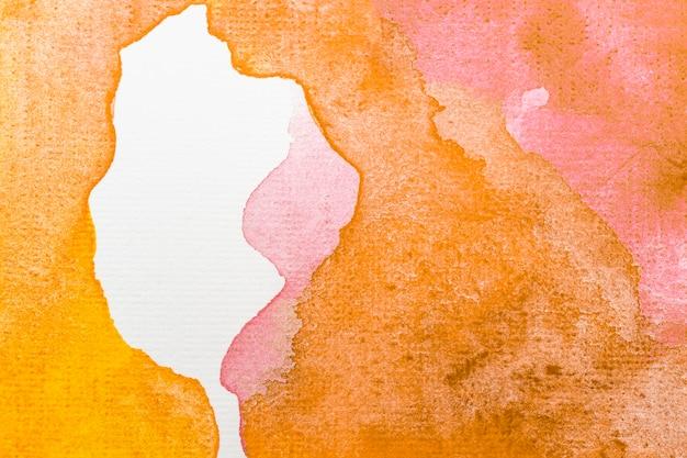 Warmer farbiger hintergrund des aquarellgradienten