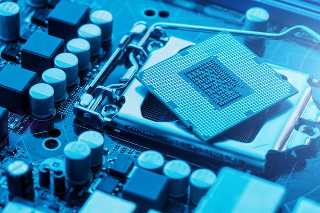 Wartungscomputer cpu-hardware-upgrade der motherboard-komponente