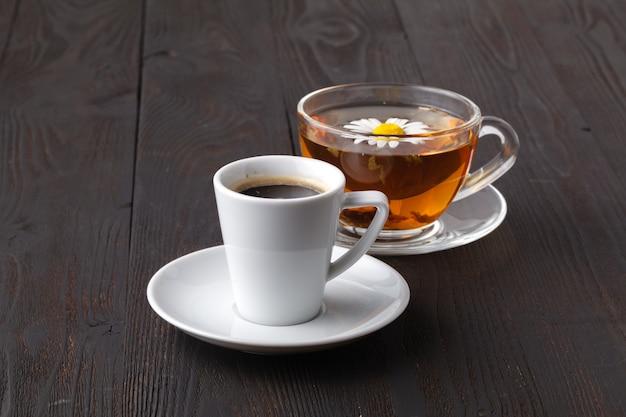 Was für tee oder kaffee zu wählen