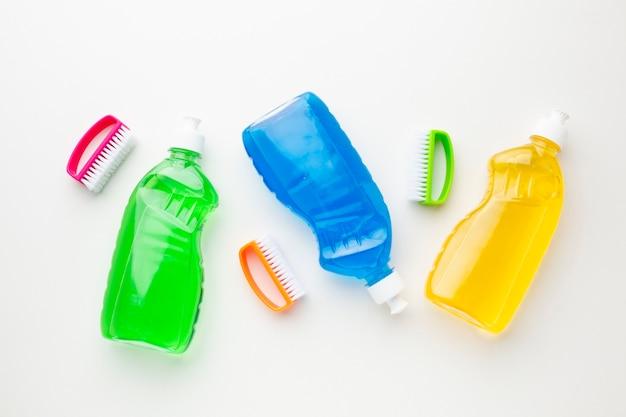 Waschflüssigkeiten flach lagern
