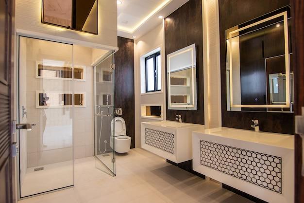 Waschraum mit modernem design