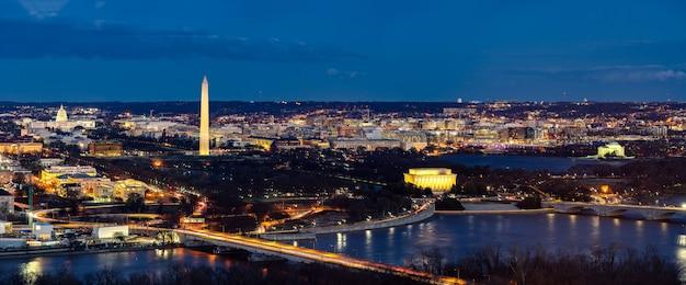 Washington dc-luftpanorama