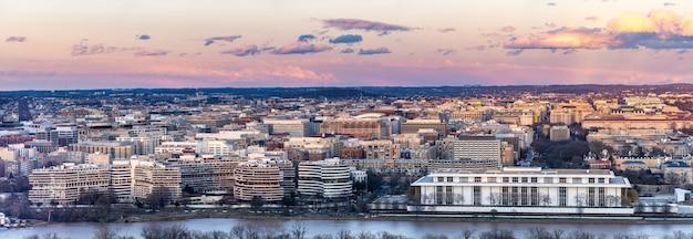 Washington dc sonnenuntergang
