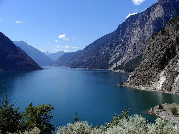 Wasser columbia lillooet seton kanada lake british