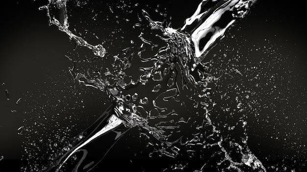 Wasser soplash hintergrund