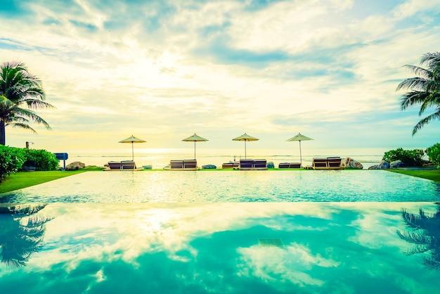Wasser strand weißes licht-resort