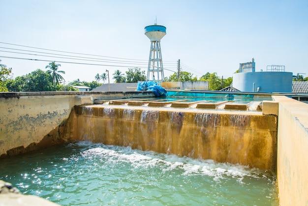 Wasseraufbereitungsanlagen.