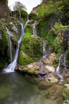 Wasserfall der tobera in burgos