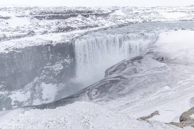 Wasserfall islands dettifoss