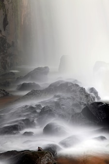 Wasserfallnahaufnahme