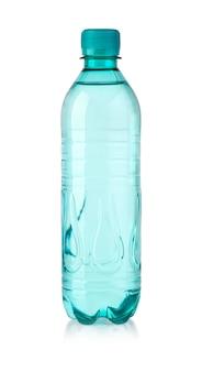 Wasserflasche lokalisiert auf weiß mit beschneidungspfad