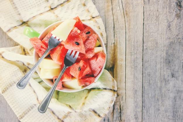 Wassermelone. essen und trinken. foto. natur.