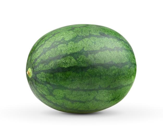 Wassermelone isoliert auf weißem hintergrund