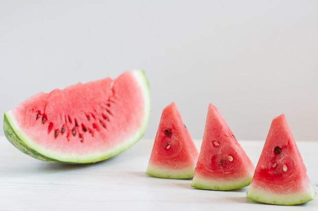 Wassermelone weiße tabelle