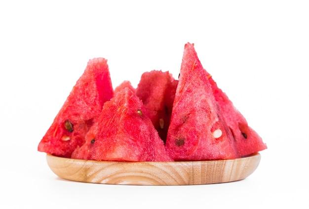 Wassermelonenfrucht ist süß.