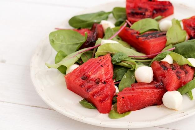 Wassermelonensalat