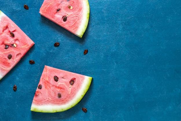 Wassermelonenscheiben