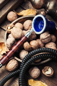 Wasserpfeife mit aroma nussbaum
