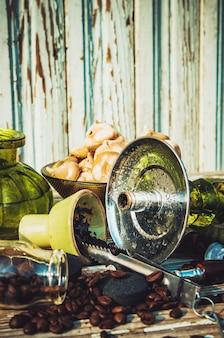 Wasserpfeife, tabakgeschmack der beeren. selektiver fokus